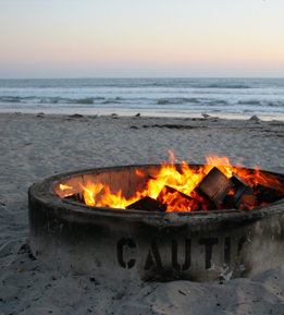 Fire pit dangers
