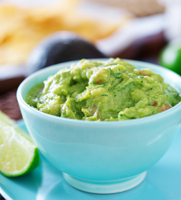 Heart-healthy guacamole