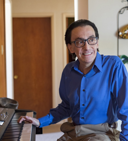 Tonsil cancer patient Richard Faugno