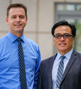 uc irvine health physicians brian smith and kenneth chang