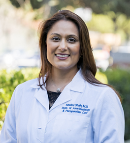 UCI Health pain management specialist shalini shah
