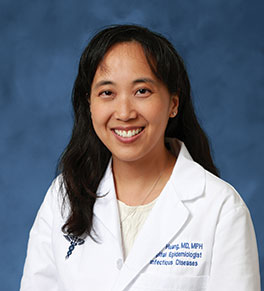 UCI Health infectious disease expert Dr. Susan Huang