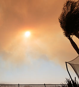 UCI Health experts say it's important to protect your lungs when skies are filled with smoke from wildfires.