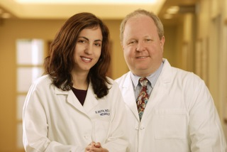Dr. Daniela Bota and Dr. Mark Linskey