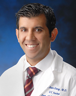 "Dr. Sumit ""Sam"" Garg, medical director of UC Irvine's Gavin Herbert Eye Institute"
