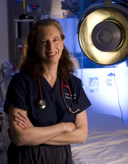Dr. Kristi Koenig <br/> Photo by Steve Zylius/UCI Healthcare