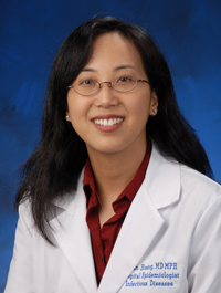 Dr. Susan Huang, UCI Health medical director of epidemiology and infection prevention