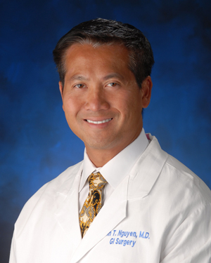 Dr. Ninh T. Nguyen, UC Irvine Health gastrointestinal surgeon and bariatric specialist