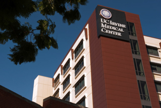 UC Irvine Medical Center sign