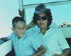 UC Irvine Health leukemia specialist Dr. Richard Van Etten as a child, shown with his mother.