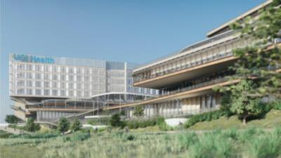 UCI Medical Center Irvine-Newport rendering