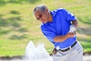 UC Irvine patient Rey Buack was back on the golf course within of month of surgery to repair a ruptured aortic aneurysm.