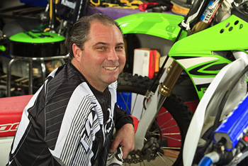 UC Irvine patient Tom Tiffany still enjoys motorcycle riding, camping and hiking on two feet