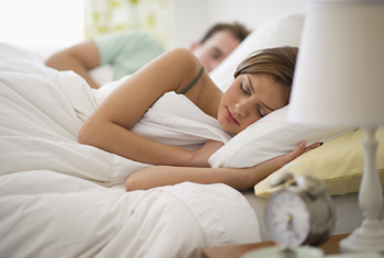 Snoring may be a sign of sleep apnea