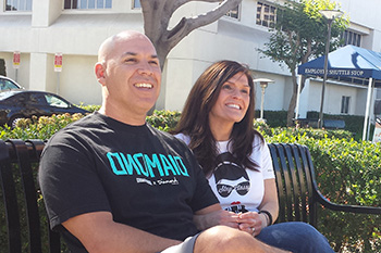 David Castenada and his wife, Denise, talk about his stroke recovery at UC Irvine Medical.