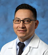 UCI Health physician Gilbert Cadena, MD, specializes in neurological surgery