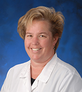 Valerie George, UC Irvine Health physician's assistant for the SeniorHealth Center.