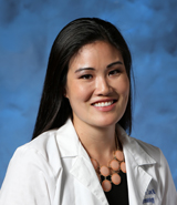 Dr. Courtney Merchant, UCI Health pediatrician specializing in neonatal and perinatal medicine