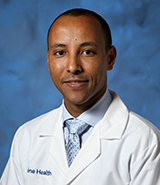 UC Irvine Health cardiologist Dr. Teferi Mitiku specializes in cardiac arrhythmia and cardiac electrophysiology.