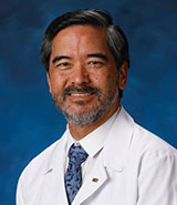 Dr. Edwin Monuki, UCI Health pathologist and chair of the UCI School of Medicine's Department of Pathology & Laboratory Medicine