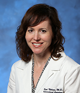 UCI Health diagnostic radiologist Dr. Kari Nelson
