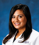 Dr. Jasmine Patel is a UCI Health obstetrician and gynecologist.