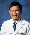 UC Irvine Health neurologist and stroke specialist Dr. Wengui Yu