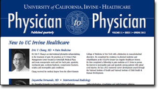 Physician to Physician Spring 2012