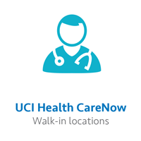 UCI Health CareNow walk-in care locations