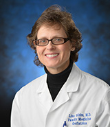 Dr. Lisa Gibbs, UC Irvine Health specialist in senior health and geriatric medicine