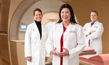 Pacific Breast Care physicians with their high-powered breast MRI technology