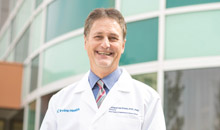 Dr. Richard Van Etten, director, UC Irvine Chao Family Comprehensive Cancer Center