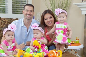 Steve & Angie Bloom And The Triplets