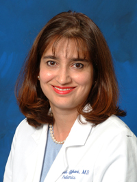 Dr. Behnoosh Afghani, UC Irvine Health pediatric infectious disease specialist