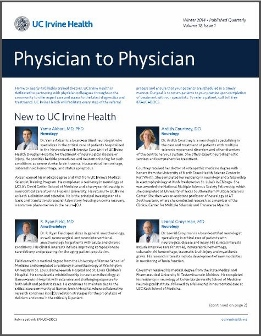 Physician to Physician Winter 2014