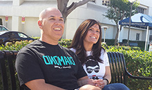 Stroke patient David Castaneda and his wife, Denise, are grateful for the treatment he received at UC Irvine Health.