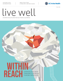 Live Well Magazine Fall 2015 cover