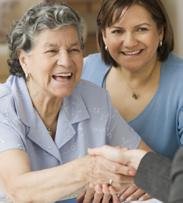 caring for an elderly parent