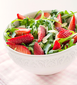 Strawberry salad that packs a nutritious punch