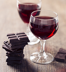Image result for chocolate and wine