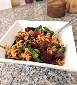 Beet And Whole Wheat Pasta Salad Uci Health Orange