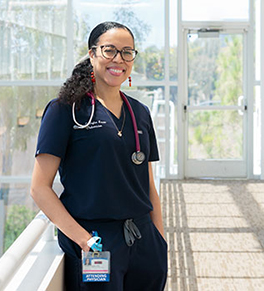 UCI Health pediatrician Dr. Candice Taylor