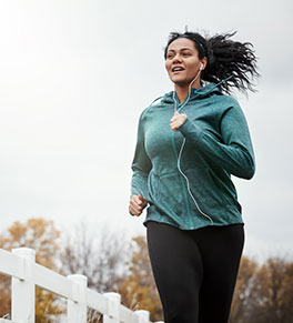 Runners and others engaged in intensive exercise may not be able to tolerate wearing a mask, but they should observe social distancing, according to the CDC.