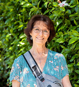 End-stage heart failure patient Elizabeth Vayssie is the first patient to benefit from the UCI Health's new program to implant a portable heart pump in patients whose heart cannot keep them alive.