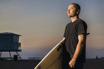 Corey Phillips is looking forward to surfing again after treatment to curb his epilepsy seizures.
