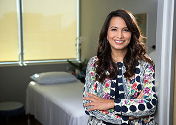Shaista Malik, MD, PhD, associate vice chancellor for integrative health at the Susan and Henry Samueli College of Health Sciences