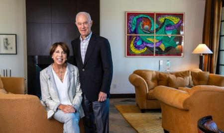 UCI Health supporters Sue and Ralph Stern