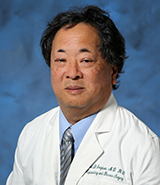 Dr. David Imagawa, UCI Health surgeon specializing in diseases and disorders of the liver and pancreas