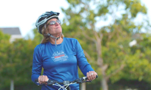 With a little help from the UCI Health Susan Samueli Center for Integrative Medicine, Patti Porto has run two marathons and is now training for a triathalon.
